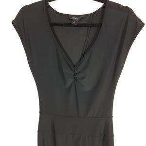 Express Black Dress Open Back Size Medium